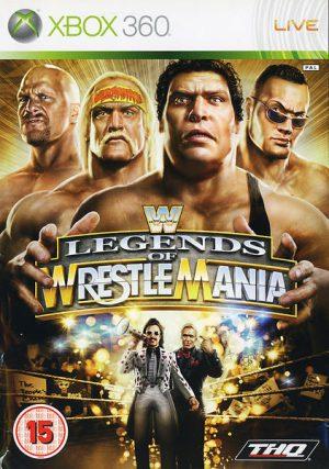 WWE Legends of WrestleMania - Xbox 360