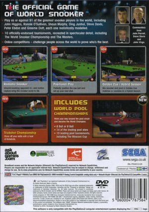 World Snooker Championship 2007 - PS2 bak