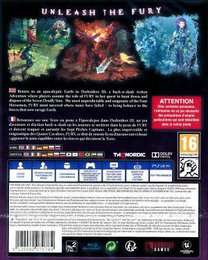 darksiders III - PS4 bak