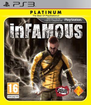 infamous - Platinum - PS3