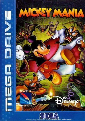 Mickey Mania Sega Mega drive