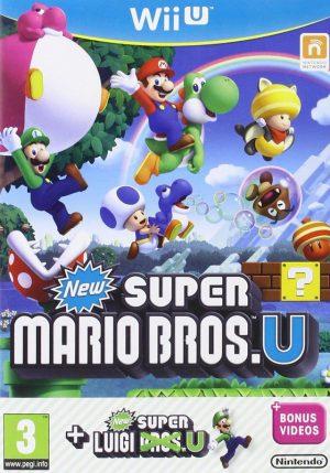 New super mario bros U + Super luigi U Wii U