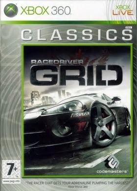 race driver grid xbox 360 classic