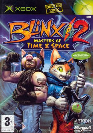 Blinx 2 Master of Time and Space - Xbox
