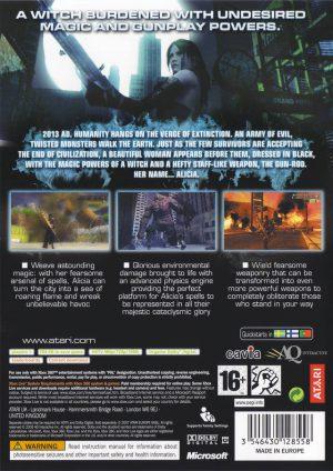 Bullet Witch - Xbox 360 bak