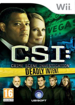 CSI Deadly Intent - Wii