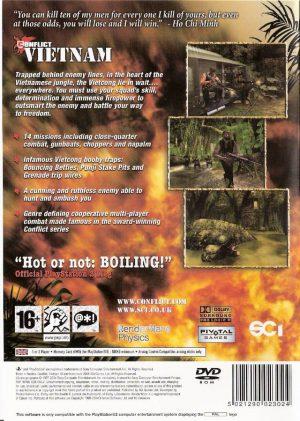 Conflict Vietnam - PS2 bak