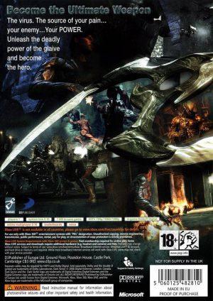 Dark Sector - Xbox 360 bak