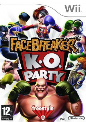 FaceBreaker K.O. Party - Nintendo Wii