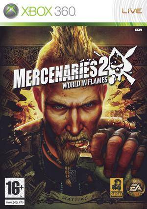 Mercenaries 2 World in Flames xbox 360
