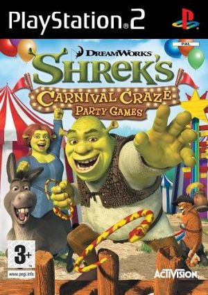 Shrek´s Carnival Craze - PS2