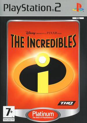 The Incredibles - Platinum - PS2