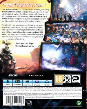 The Technomancer - PS4 bak