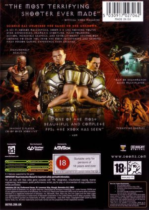Doom 3 - Xbox bak
