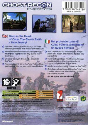 Tom Clancy´s Ghost Recon Island Thunder - Xbox bak
