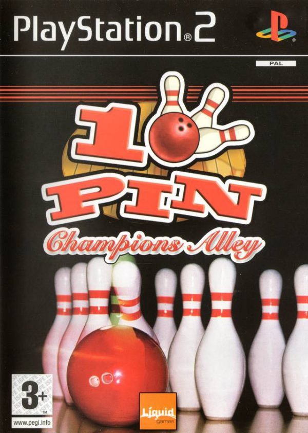 10 Pin Champions Alley - ps2
