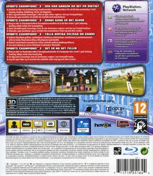 Sports Champions 2 - PS3 bak