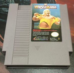 WWF Wrestlemania DAS front
