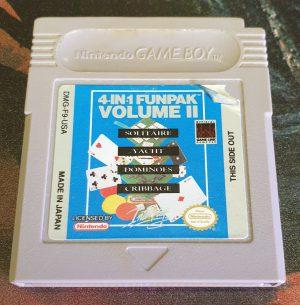 4-in-1 Funpak: Volume II - USA - Game Boy