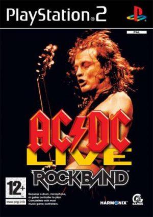 AC/DC Live: Rock Band - PS2