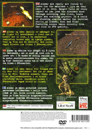 Disney's Dinosaur - PS2 bak