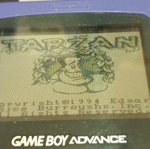 Tarzan: Lord of the Jungle - EUR - Game Boy 01 ig