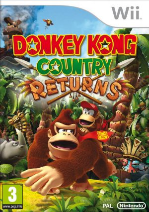 Donky kong country returns -wii