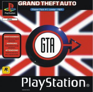 Grand Theft Auto Mission Pack #1 London 1969 - PS1