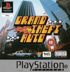 Grand theft Auto - Platinum - PS1
