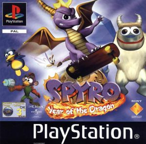 Spyro: Year of the Dragon - PS1