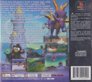 Spyro Year of the Dragon - PS1 bak