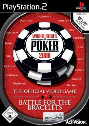 World Series Poker 2008: Battle for the Bracelets - Playstation 2