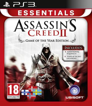 Assassins Creed II - Game of the Year editon - Essentials - Playstation 3