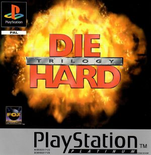 Die Hard Trilogy - Platinum - Playstation 1 - PS1