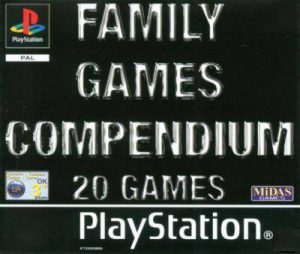 Family Game Compendium: 20 Games - Playstation 1