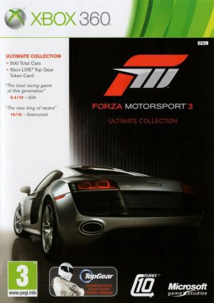 Forza Motorsport 3 Ultmimate Collection - Xbox 360