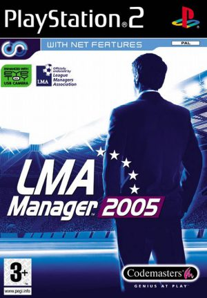 LMA Manager 2005 - Playstation 2