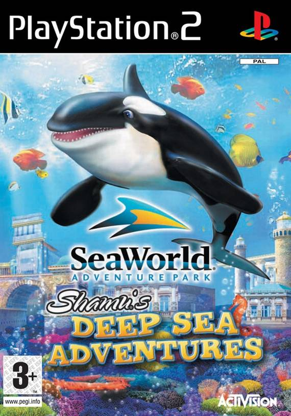 Sea World Adventure park: Shamu's Deep Sea Adventures - Playstation 2