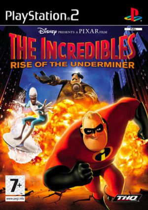 The Incredibles: Rise of the Underminer - Playstation 2