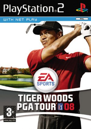 Tiger Woods PGA Tour 08 - Playstation 2