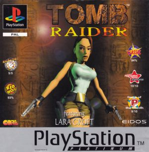Tomb Raider - Platinum - Playstation 1