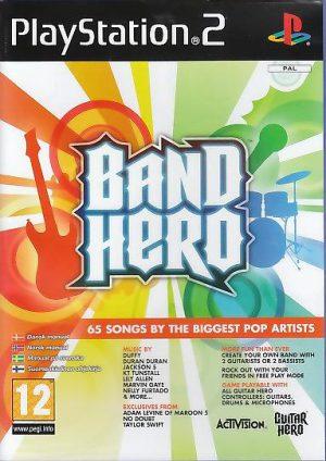 Band Hero playstation 2