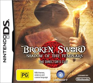 Broken Sword: Shadow of the Templars - Directors Cut - Nintendo DS