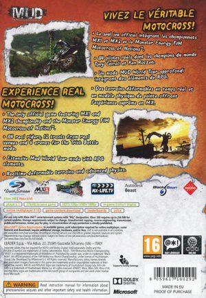 MUD FIM Motorcross World Championship xbox 360 bak