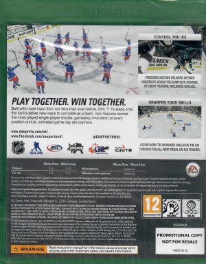 nhl 16 promotional copy xbox one bak