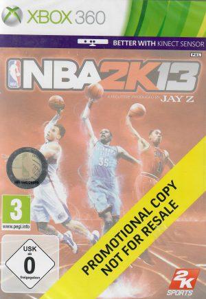 NBA 2K13 promotional copy