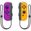 Nintendo Switch joy-con orange lila