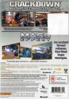 Crackdown and Mass Effect Double Pack classics Xbox 360 bak