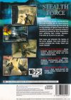 Stealth Force The War on Terror - PS2 bak